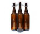 Пивная бутылка с бугельной пробкой 0.5 л