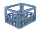 Ящик пластиковый для 20 стеклянных бутылок