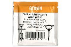 Винные дрожжи Gervin GV6 Light Dessert Wine