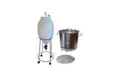 Пивоварня ЦКТ 62 л.  с сусловарочным котлом 50 л.