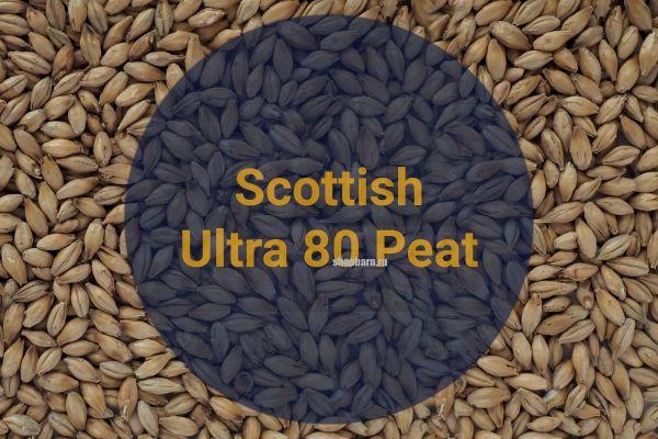 Солод ячменный Scottish Ultra 80 ppm Peat Crisp malt 1 кг